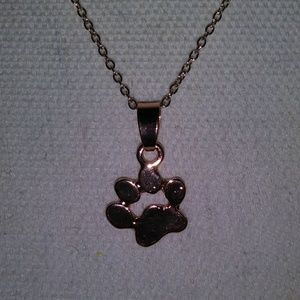 3/$21 Paw necklace